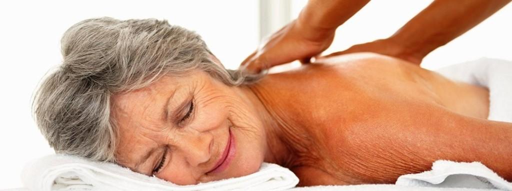 массаж спинного отдела