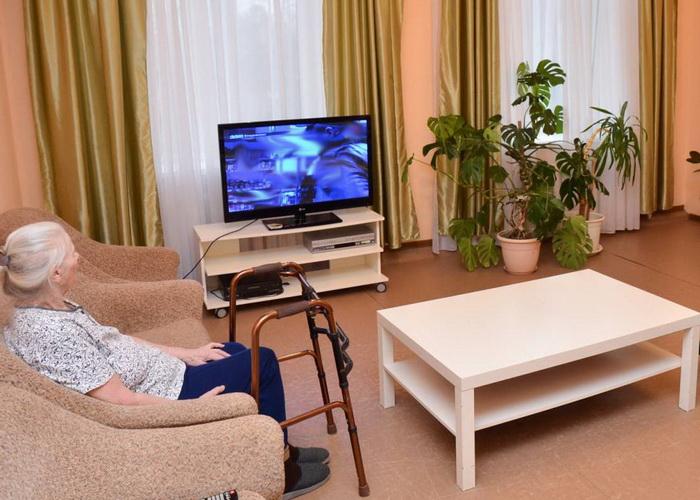 комната дома престарелых