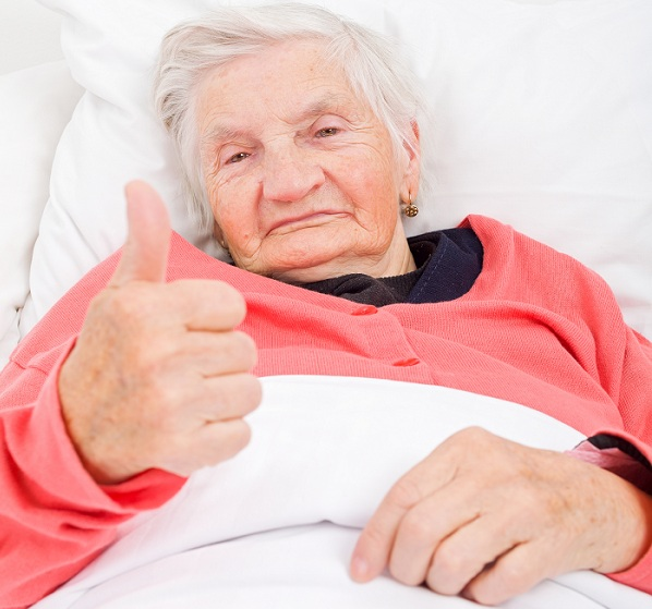 сиделка для лежачей старушки